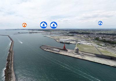 茨城を代表する港湾の写真