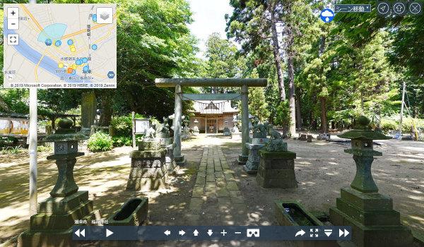潮来市おすすめ観光スポット稲荷山公園稲荷神社の案内