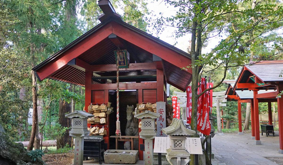 稲敷市おすすめスポットの勝馬神社
