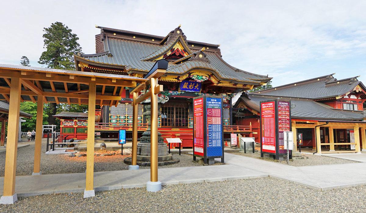 稲敷市神社観光名所の大杉神社