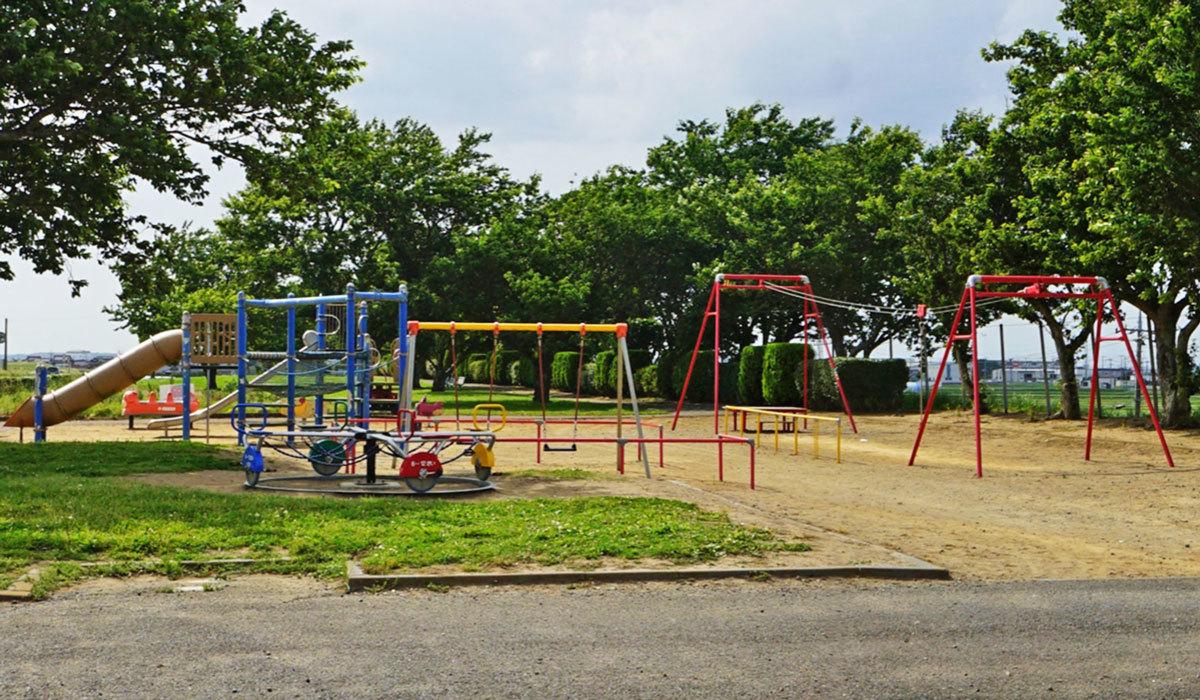 稲敷市のおすすめ観光スポットの大利根東公園