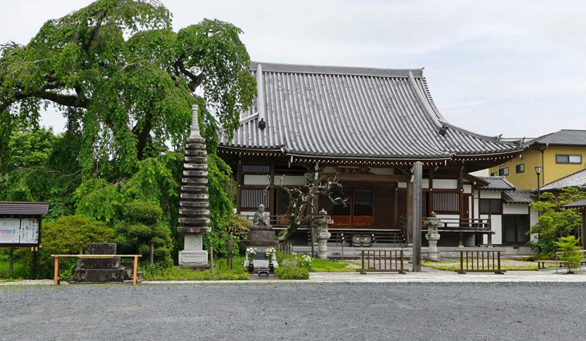 茨城県常陸大宮市のおすすめ観光スポットの西方寺