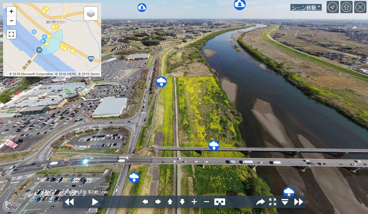 境大橋の観光VRツアーのサムネイル