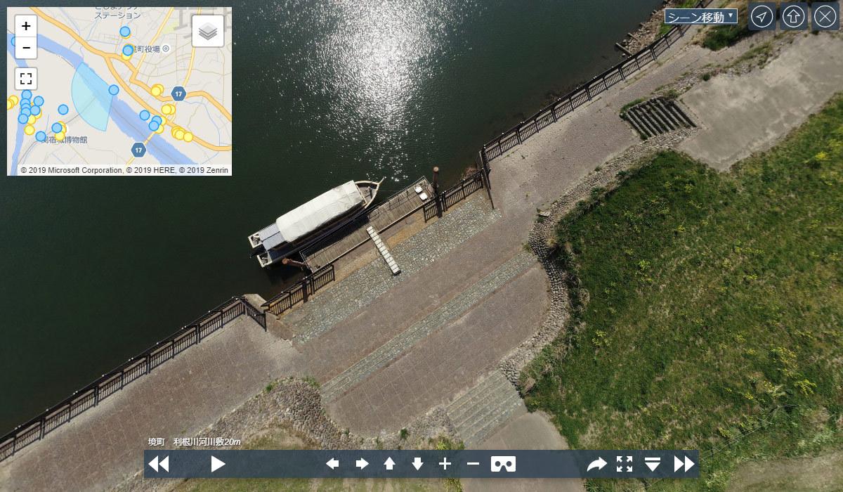 境町のおすすめ観光スポットの境河岸乗船場