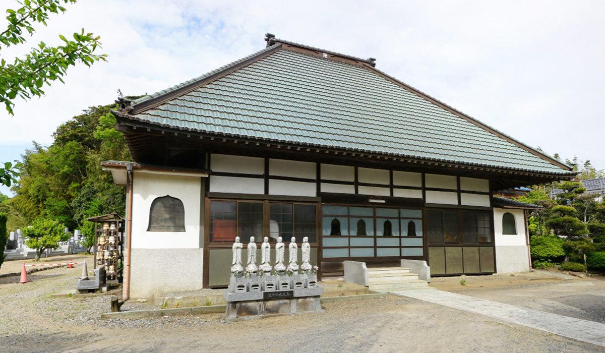 稲敷市おすすめ観光スポットの宗船寺