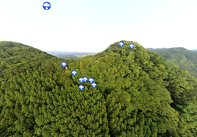 山・登山おすすめスポット月居山・袋田の滝