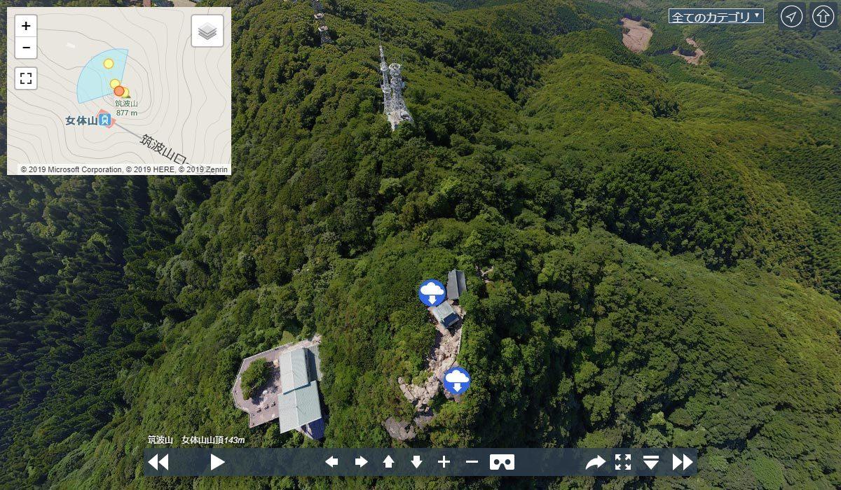 筑波山おすすめ観光スポットの女体山