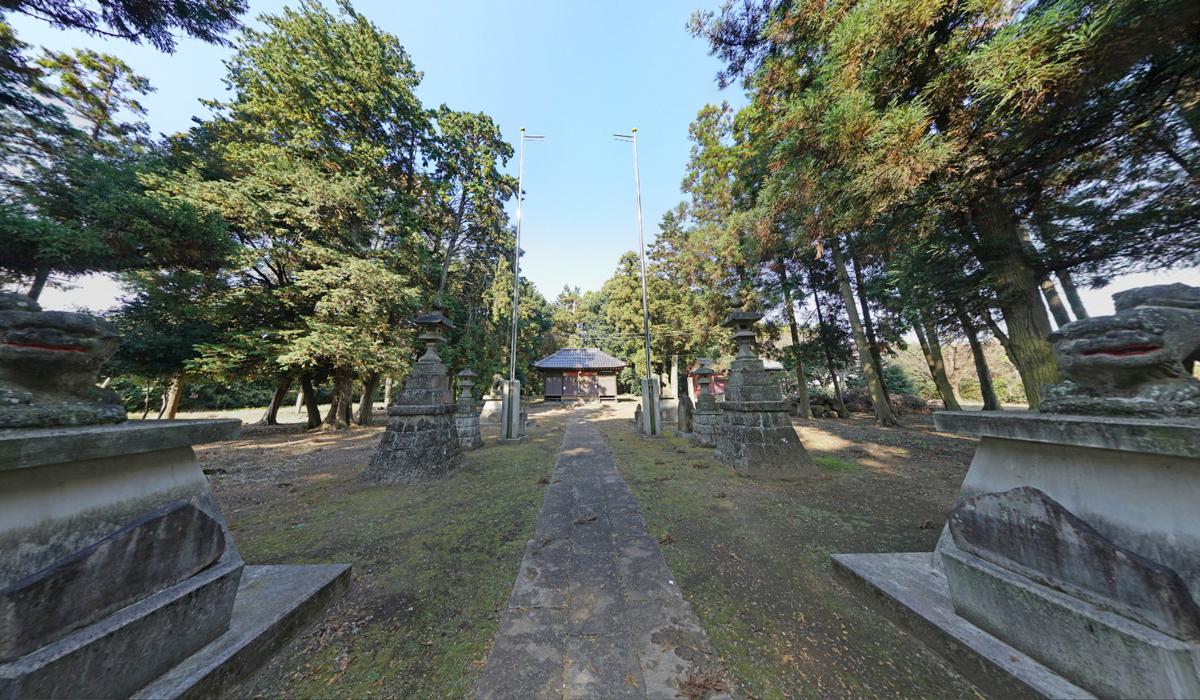 那珂市の鷲神社観光案内写真
